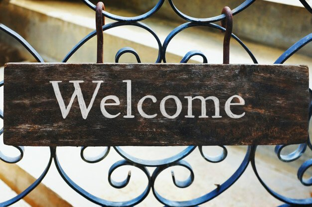 diy welcome sign