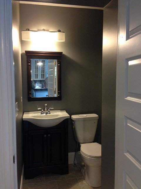 lighting powder room
