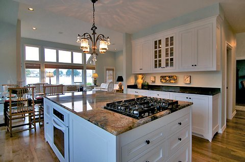 beautiful french kitchen