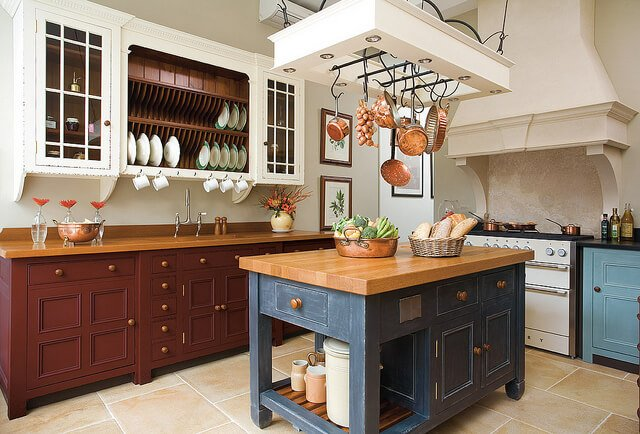 typical french country kitchen