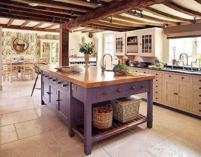 farmhouse inspired kitchen