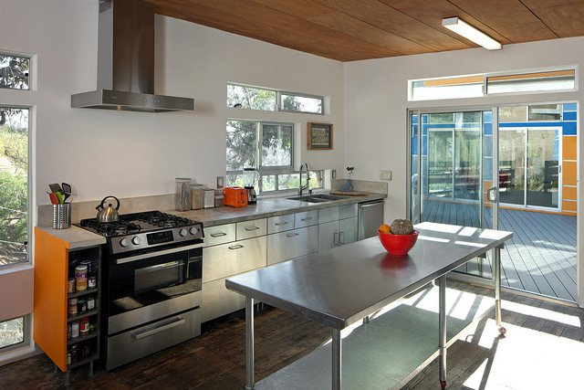 clerestory windows kitchen