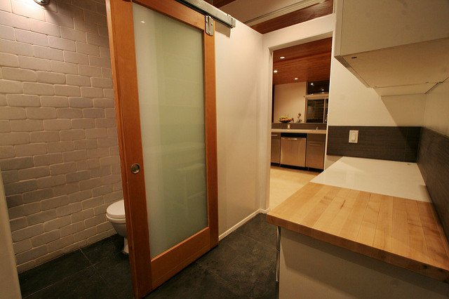 glass barn door