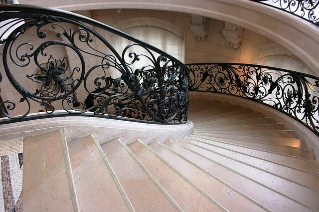 arched staircase
