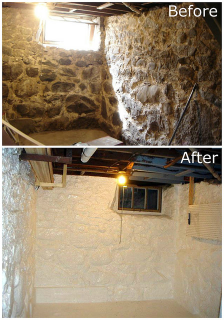 waterproofing basement