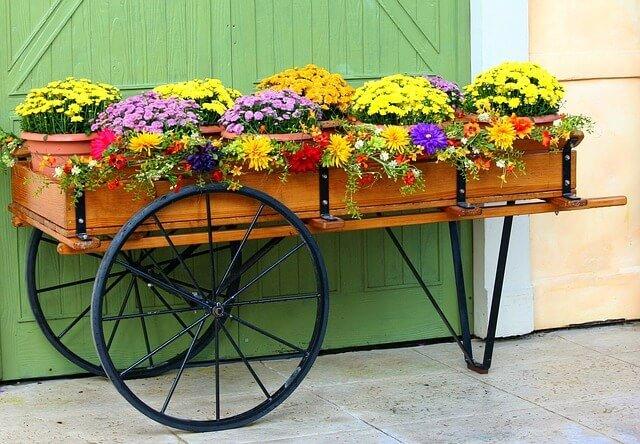 Flower-Cart