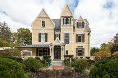 Exterior Paint Gothic Revival Victorian House makeover
