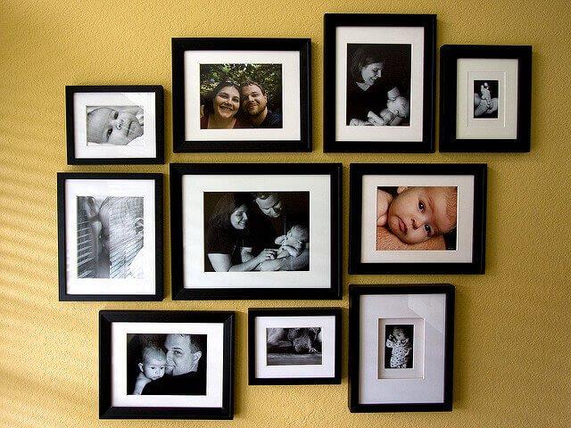 photograph wall