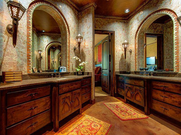 Jack and Jill bathroom design