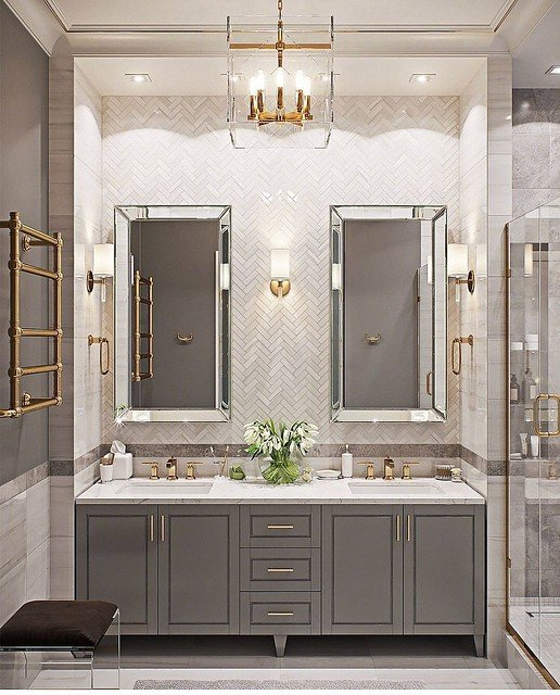Bathroom Lighting Ideas To Add A Dreamy