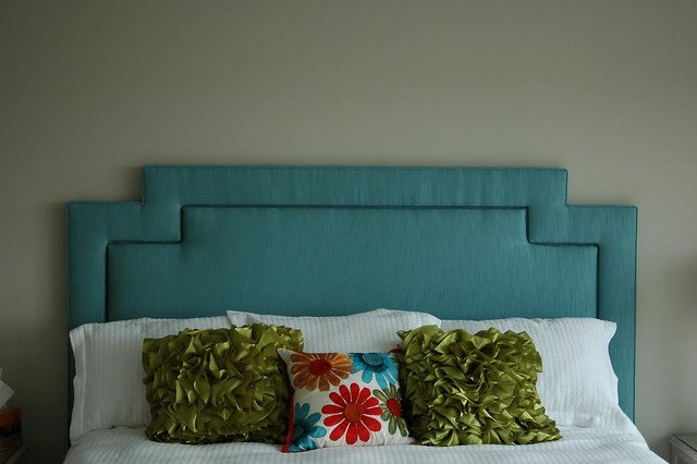 Modern Stepped Headboard
