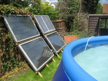 solar swimming pool heater