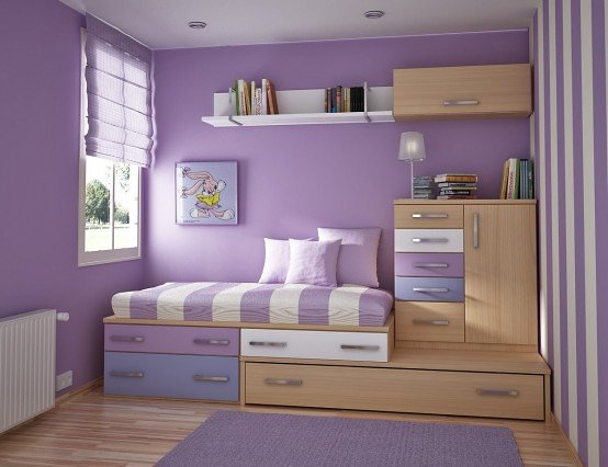 Purple children's room