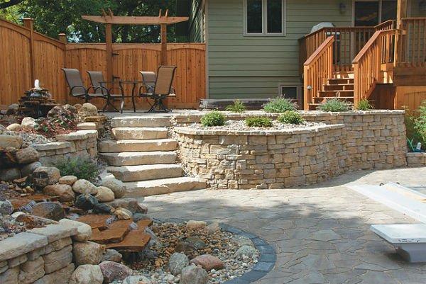 Multi-lever patio