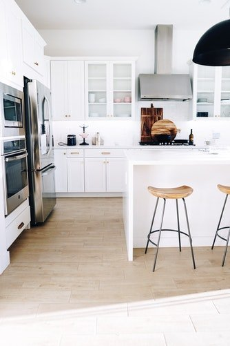 countertop and cabinets