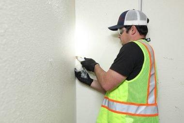 Testing asbestos popcorn ceiling