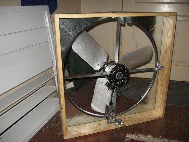 Whole-house fan