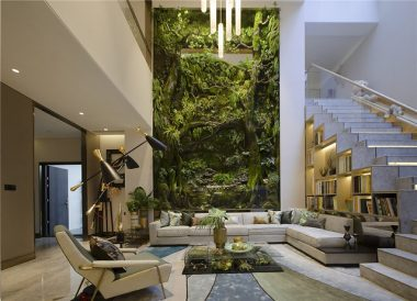 Living room terrarium
