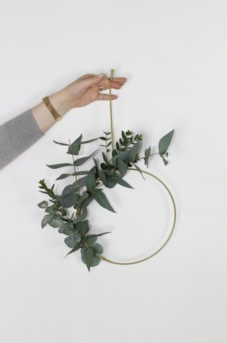 leaf summer wreath