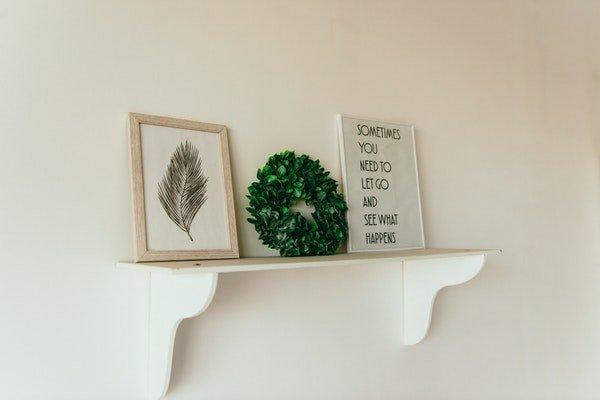 green summer wreath