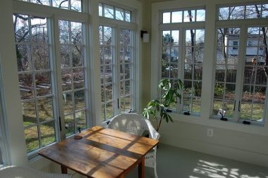 Beautiful sunroom