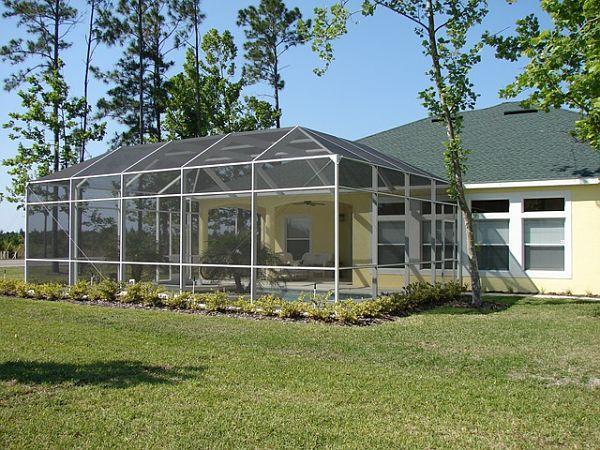 All-glass sunroom