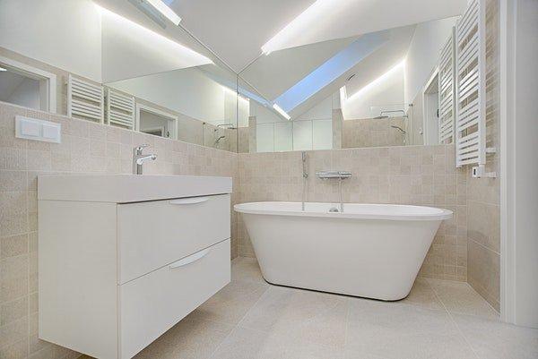 ensuite bath mirror