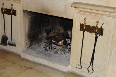 Sooty fireplace