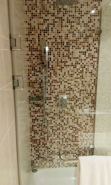 mosaic shower tiles