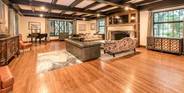 Traditional great room