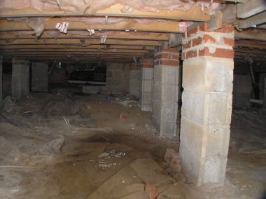 Types of crawl spaces