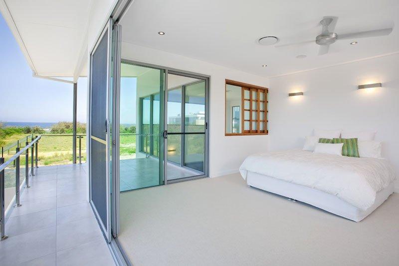 Glass bed room door