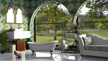 10 Outdoor Bathroom Designs to Brighten Up Your Backyard