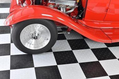 Garage tiling