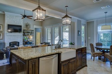 Types of kitchen island lighting