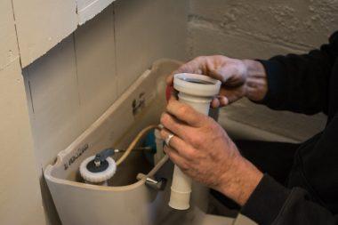 Flushing system