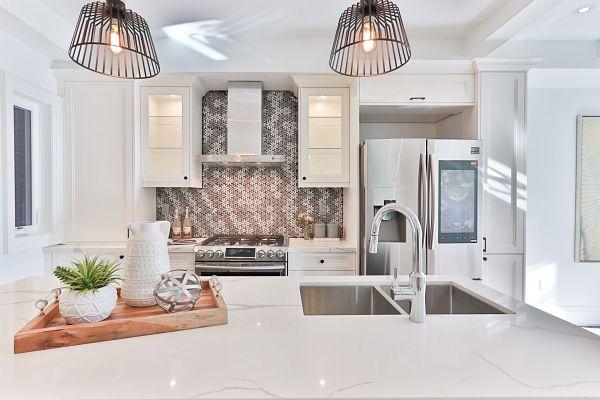 white quartz countertops
