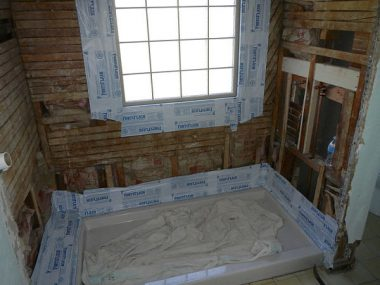 Bathtub conversion