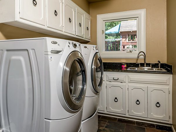 over washer storage