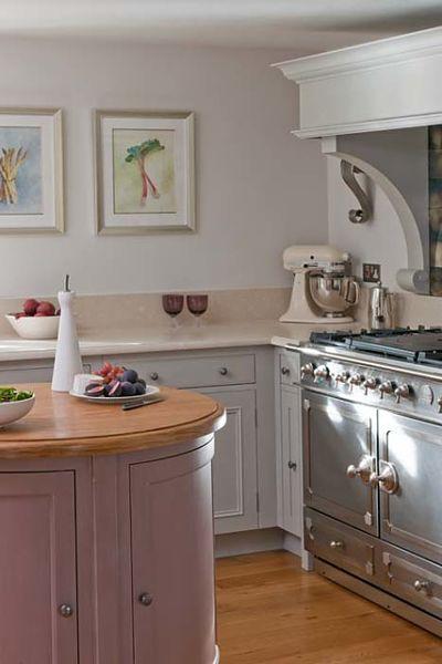 pastel kitchen cabinets