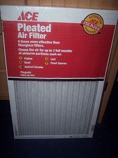 Types of air filter