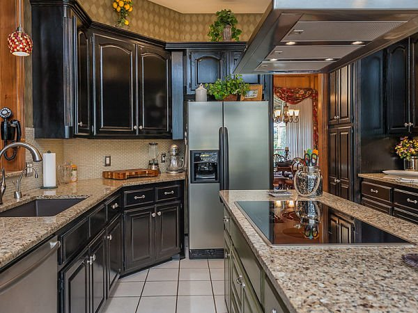 Taupe countertop