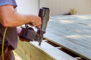 Repairing deck