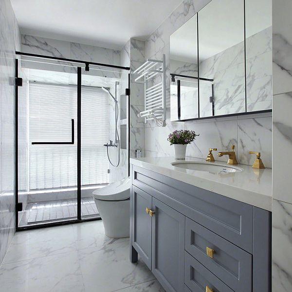 bathroom vanity color