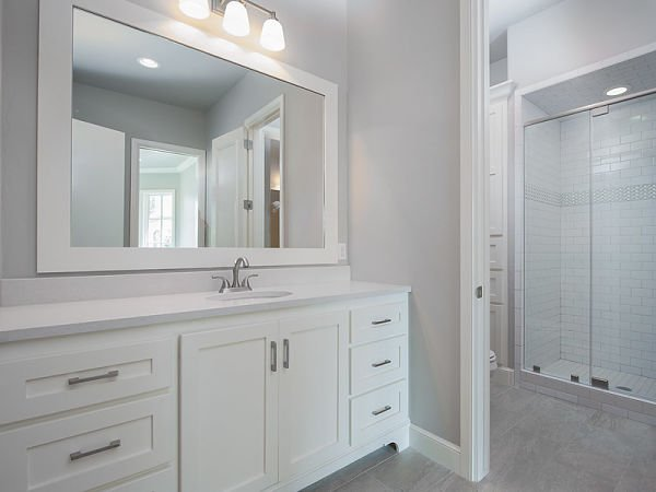 bathroom vanity size