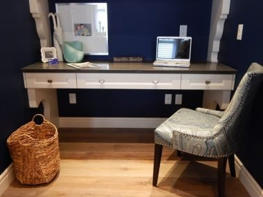Repurposed office furniture