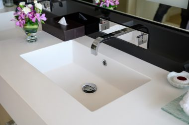 Touch free sink