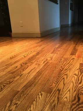 wood floor fininsh