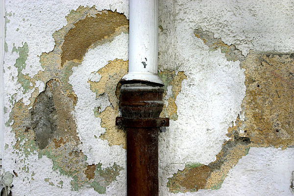 ruined pipe