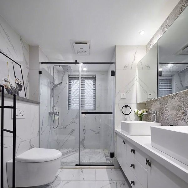 17 Stunning Gray And White Bathroom Ideas To Inspire You